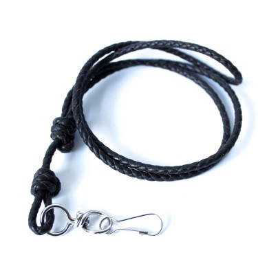 Hand-Braided-Natural-Leather-Lanyard